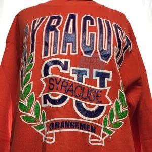 90s vtg Syracuse University Sweatshirt